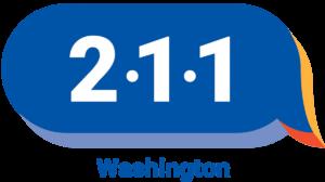 Logo: 211 Washington